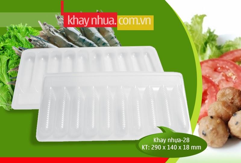 Khay Nhựa định hình 28